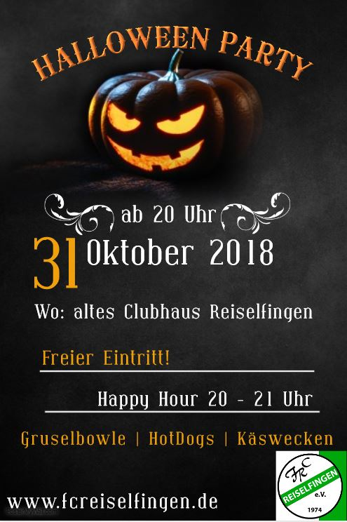 Halloween Party 2018 Flyer